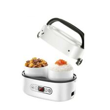 Mini Electric Rice Cookers Portable Lunch Box Multicooker Food Storage Insulator