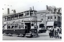 a0162 - Birmingham Tram no 578 at Aston Cross , Last Day - photograph