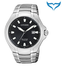 Citizen Super Titanium Herren Armbanduhr BM7430-89E Saphir Eco-Drive Herrenuhr