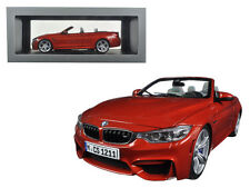 BMW M4 Cabrio Orange 1:18 Scale Toy Collection Diecast Model Cars 97111