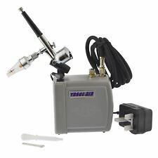 Portable Mini Air brush And Compressor Spray Paint Gun Airbrush Kit