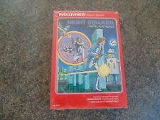 NIGHT STALKER INTELLIVISION NEW OLD STOCK GAME SEALED IN BOX FROM 1982 RETRO