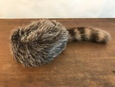 Coonskin Daniel Boone Costume Mountain Man Pioneer Hat Mens Size Small CH8