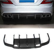 Carbon Fiber Rear Bumper Diffuser Spoiler for Mercedes Benz W218 C218 CLS63 AMG