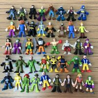 21pcs Fisher-Price Imaginext DC Super Great Adventure Hero Xmas Figure no repeat