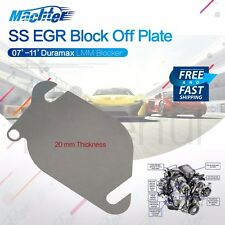 DURAMAX Diesel EGR Block Off Plate 2007.5-2011 LMM Blocker Stainless Steel 1 PC