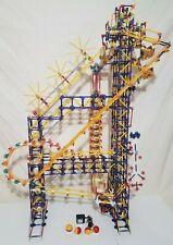 K'NEX Big Ball Factory COMPLETE SET (No Box) w/ Instructions & DC Electric Motor