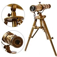 collectiblesBuy Antique Vintage Handheld Brass Telescope Victorian W.Ottway Ealing London 1915 Pirate Draw Scope