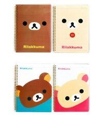 San-X Rilakkuma Clear PP Cover Notebook,Journal - 4 Different Design