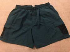 Vintage Speedo Cargo Shorts With Net Lining XL? SEE MEASUREMENTS! #C8