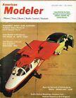 AMERICAN MODELER Magazine January 1961 Albatros DVA: C/L Scale model Musciano