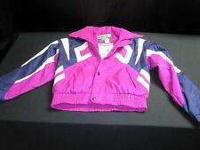 Vintage 90s Obermeyer Power Lines Bright Gore Tex Ski Jacket Coat Small ~ 7070
