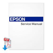 EPSON Stylus Pro 7400 7800 9400 9800 Plotter English Service Manual PDF