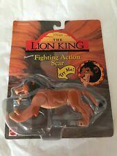 Disney Lion King Action Figure Fighting Scar Mattel 1994