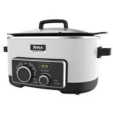 Original NINJA 4-in-1 Cooking System 6 Qt MC900QWH (Certified Refurbished) WHITE