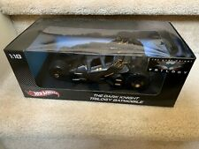 Hot Wheels The Dark Knight Trilogy Tumbler Batmobile 1:18 scale NON-MINT Box