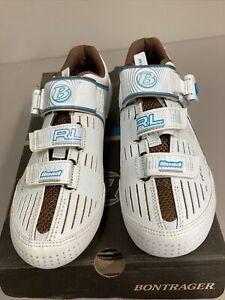 Bontrager Womans RL Carbon Road Shoe 41.5(9.5) White