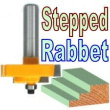 1 PC 1/2 SH Picture Frame Stepped Rabbet Molding Router Bit sct-888