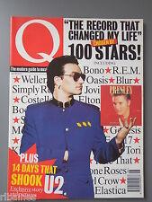 Q Music Magazine June 1995, U2/Elvis Costello/Celine Dion/Elvis (he's alive)