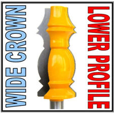 "1 pc 1/2"" SH 3"" Long Blade Lower profile Wide Crown Molding Router Bit sct-888"