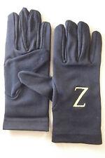 Franc maçonnerie gants coton brodés masonic gloves embroided