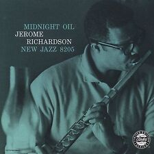 Midnight Oil by Jerome Richardson Sextet (CD, 1992, Original Jazz Classics) NEW