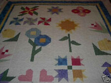 Long Arm Machine Quilting  For Your Quilt Top Gammill  Twin Size 63x87