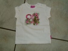 =Traum T-Shirt PAMPOLINA Gr.68 weiß khaki Jungle Paradise 20 Monkey w.Neu