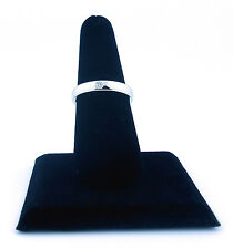 Tiffany & Co. Lucida 3.5mm Platinum and Diamond Wedding Band, Size 7.75