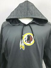 NFL Washington Redskins Football Hoodie SIZE XL Mens Gray NWT $70