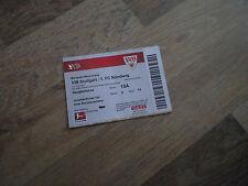 Altes Ticket VfB Stuttgart - 1. FC Nürnberg Saison 2010/2011