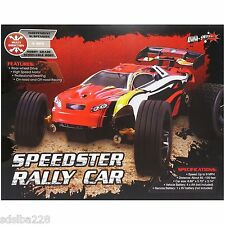 AWW Red Speedster Rally Car RC radio control vehicle 27 mhz full function sports