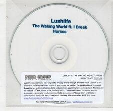 (HB637) Lushlife, The Waking World - 2016 DJ CD