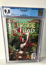 Suicide Squad #1 New 52 2011 CGC 9.8 Harley Quinn King Shark HBO MAX - Read