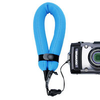 Sangle Dragonne Flottante pour Appareil Photo Canon Sony Nikon Olympus /Bleu