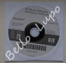 HP OfficeJet 5600 series, PhotoSmart 3100 series Installation cd 7.9.0 Macintosh