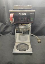Bunn Cwtf20-3 Automatic 12 Cup Coffee Brewer with 3 Warmers and S/S Funnel