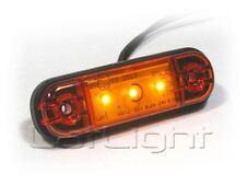 4x LED Seitenmarkierungsleuchten Umrissleuchte LKW Positionslicht 12 24 Volt
