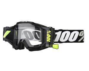 100% - 50220-059-02 - Accuri Forecast Film System Goggles; Tornado; Clear Lens