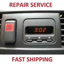 97 98 99 00 01 Honda CRV CR-V Digital Clock REPAIR SERVICE