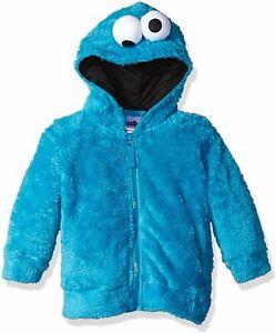Sesame Street Boys' Toddler Elmo Costume Hoodie