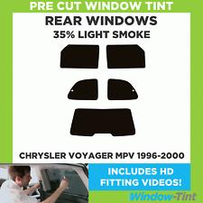 TINTGIANT PRECUT FRONT DOORS WINDOW TINT FOR CHRYSLER TOWN & COUNTRY 96-00 Window Tint