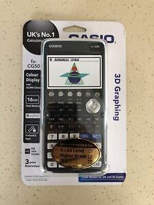 Casio FX-CG50 Graphing Scientfic Calculator - Black