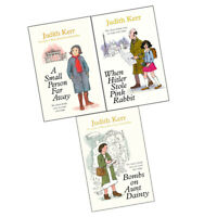 Judith Kerr Collection 3 Books Set Pack (When Hitler Stole Pink Rabbit, A Small)