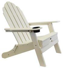 Atlas - Beach Haven Poly Adirondack Folding Chair - Color: White