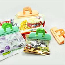 4 pcs Kitchen Storage Bag Clip Seal Organizer Food Chips Snack Bag Clips Pop