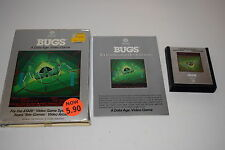 BUGS Atari 2600 Video Game COMPLETE In BOX TESTED Data Age