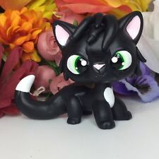 Littlest Pet Shop, Short Hair Cat WARRIOR CAT, Ooak Custom, Hand Painted, LPS