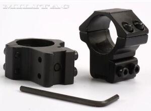 Mittlere Montage 25,4 mm 1 Zoll Zielfernrohr Ringe für 11 - 14mm Prismenschiene