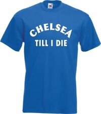 Chelsea Football Cotton T-Shirts for Men